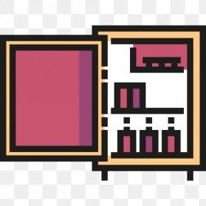 Refrigerator - Refrigerator Room Apartment Icon PNG