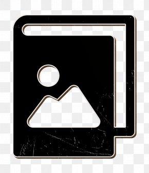 Blackandwhite Logo - Album Icon Camera Icon Image Icon PNG