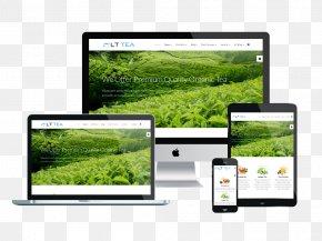 Tea Shop Brochure - Responsive Web Design Tea WordPress Template Theme PNG