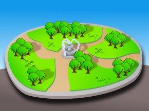 Park Cartoon - Park Clip Art PNG