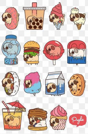 Shar Pei - Pug Ice Cream T-shirt Food Milk PNG