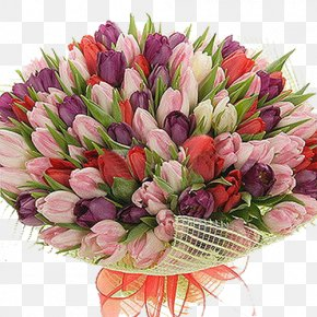 Tulip Bouquet - Tulip Flower Bouquet Buchete.ro Rose PNG