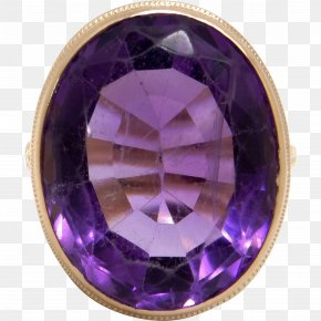 Gemstone - Amethyst Gemstone Purple Violet Jewellery PNG