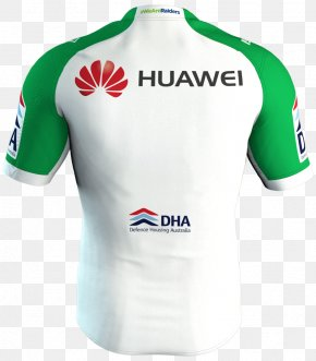 T-shirt - Canberra Raiders T-shirt Sports Fan Jersey Sleeve PNG