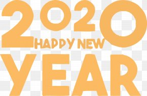 Logo Text - Happy New Year 2020 New Years 2020 2020 PNG