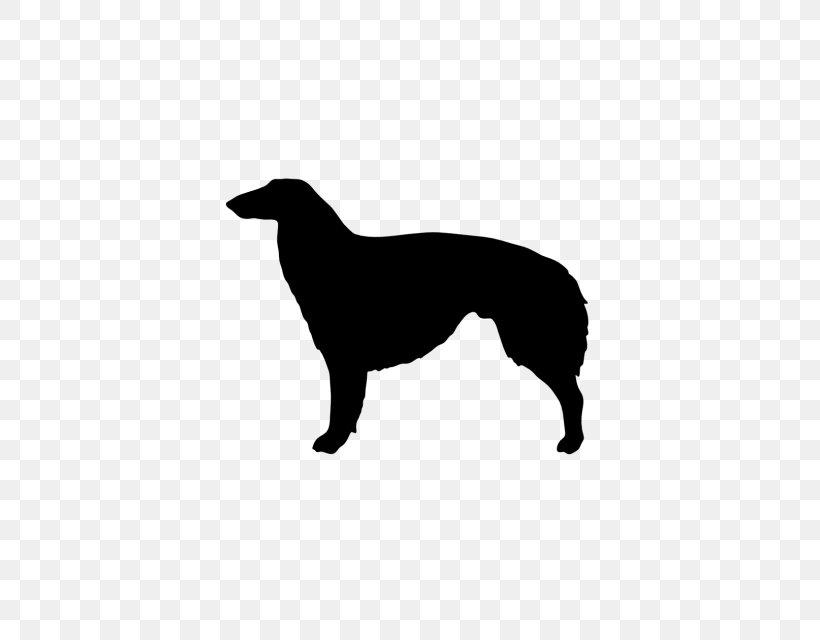 Boxer Borzoi Puppy Silhouette Clip Art, PNG, 640x640px, Boxer, Black And White, Borzoi, Breed, Carnivoran Download Free