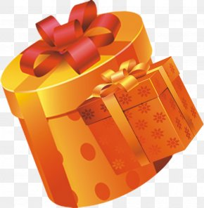 Gift - Cylinder Gift PNG