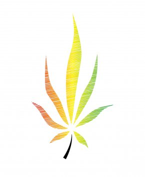 Flower Weeds Cliparts - Medical Cannabis Hemp Joint PNG