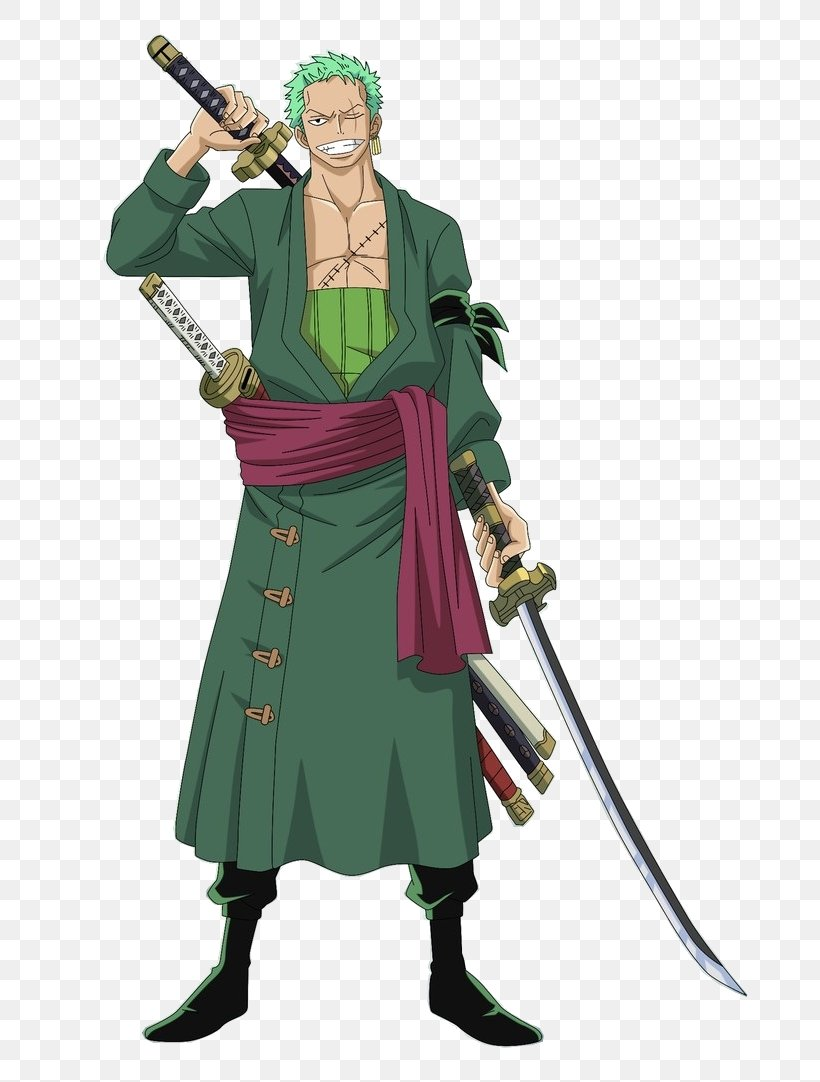 Roronoa Zoro One Piece: Pirate Warriors Monkey D. Luffy Itachi Uchiha Shanks, PNG, 677x1082px, Roronoa Zoro, Action Figure, Character, Costume, Costume Design Download Free