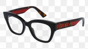 Glasses - Glasses Gucci Fashion Lens Eyeglass Prescription PNG