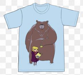 T-shirt - T-shirt Canidae Dog Cartoon PNG