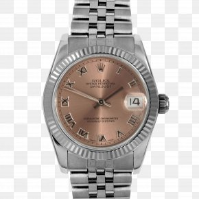 Metal Bezel - Rolex Datejust Automatic Watch Watch Strap PNG