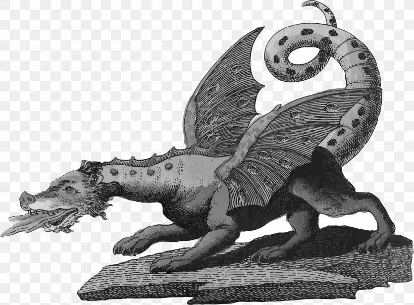 European Dragon Legendary Creature Dragons In Greek Mythology, PNG, 2280x1682px, European Dragon, Art, Black And White, Chinese Dragon, Dragon Download Free