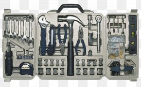 Hardware Accessories Toolbox - Toolbox Hammer DIY Store Wrench PNG