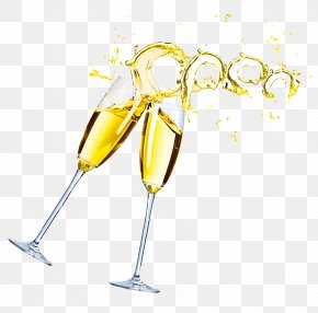 Champagne - Champagne Glass Wine Glass PNG