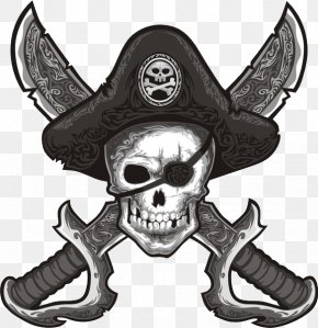 Skull - Human Skull Symbolism Piracy Jolly Roger Assassin's Creed IV: Black Flag PNG