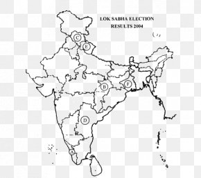 Vidhansabha Frame - India Blank Map Coloring Book Politics PNG