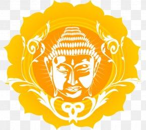 Gold Lord Buddha - Buddhism Clip Art PNG