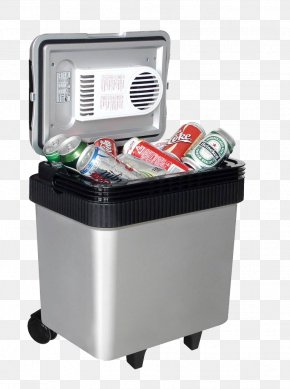 Car Small Refrigerator In Kind Download - Coleman Company Cooler Electricity Camping Igloo PNG
