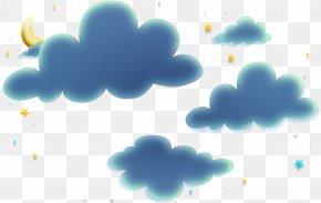 Clouds - Blue Aqua Turquoise Azure Green PNG
