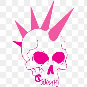 Skull - Punk Rock Drawing Skull Punk Subculture PNG