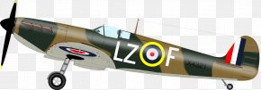 Airplane - Airplane Second World War Supermarine Spitfire Fighter Aircraft Clip Art PNG