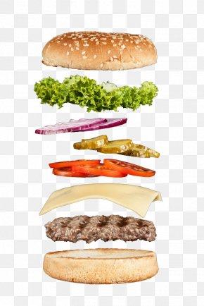 Layered Burger - Hamburger Cheeseburger Whopper Buffalo Burger Slider PNG