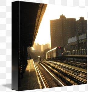 New York City - The Bronx Gallery Wrap Canvas Printmaking Art PNG