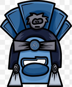 Anonymous Mask - Car Club Penguin PNG