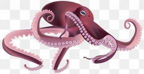 Octopus Transparent Clip Art Image - Octopus Squid Clip Art PNG