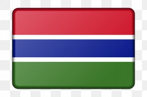 Flag - Flag Of The Gambia National Flag Flags Of The World PNG