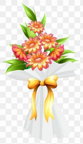 Bouquet Of Flowers - Flower Bouquet Cut Flowers PNG