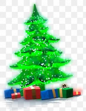 Christmas Tree - Christmas Tree Gift Santa Claus Clip Art PNG