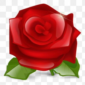 Red Roses Icon - Love Heart Favicon Clip Art PNG