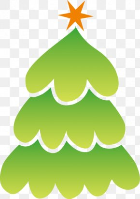 Christmas Tree - Fir Christmas Tree Christmas Ornament New Year Tree Clip Art PNG