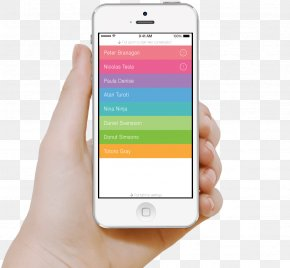 Smartphone In Hand Image - Smartphone WhatsApp Instant Messaging PNG