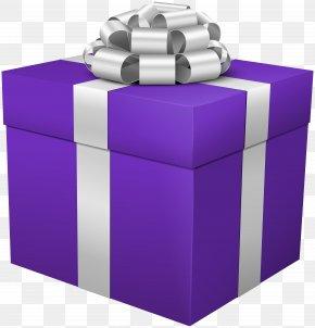 Gift Box Purple Clip Art Image - Gift Box Clip Art PNG