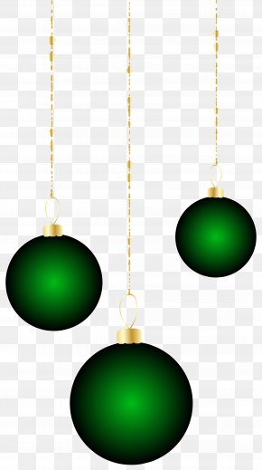 Transparent Christmas Green Ornaments Clipart - Green Body Piercing Jewellery Sphere Christmas Ornament PNG