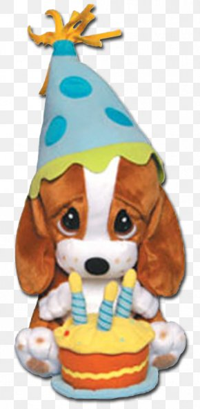 Puppy - Puppy Basset Hound Birthday Cake Stuffed Animals & Cuddly Toys PNG