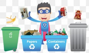 Diversion Banner - Waste Management Recycling Waste Sorting PNG