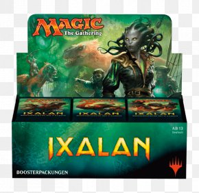 Magic The Gathering - Magic: The Gathering Ixalan Booster Pack Warhammer Fantasy Battle Playing Card PNG