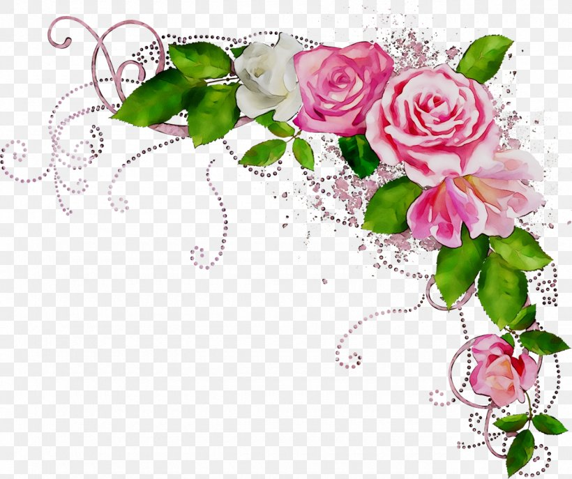 Clip Art Borders And Frames Rose Flower Floral Design, PNG, 1280x1073px, Borders And Frames, Art, Botany, Bouquet, Cut Flowers Download Free
