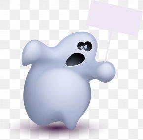 Cute Halloween Ghost Element - Halloween Ghost PNG