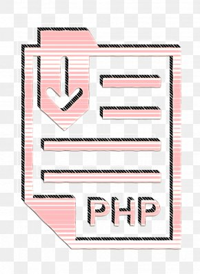 Pink Php Icon - Document Icon Extension Icon File Icon PNG