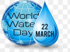 Transparent Texture Of Water Droplets On The Earth - World Water Day Drop Download PNG