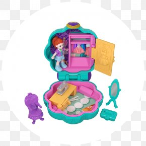 Toy - Polly Pocket Mattel Toy Doll PNG