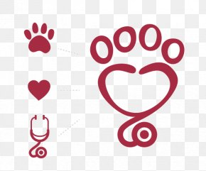 Heartbeat - Dog Patas Therapeutas Animal-assisted Therapy Paw Symbol PNG