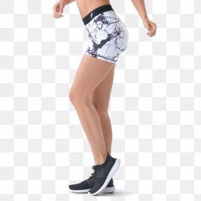 Marbles - Leggings Waist Marble Shorts Knee PNG