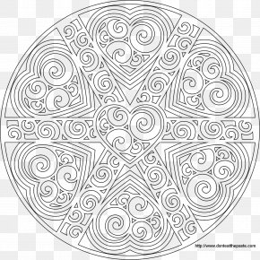 Child - Mandala Coloring Book Child Drawing Adult PNG