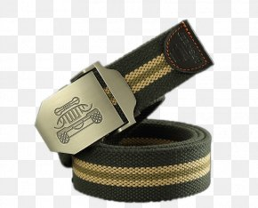 Automatic Belt Buckle Belt Male Adolescents - Belt Buckle Designer PNG